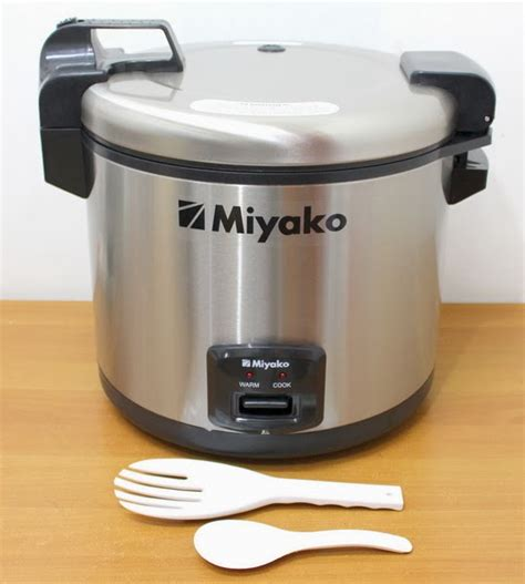 Miyako Rice Cooker Mcg 171 Jumbo miyako magic 2in1 mcg 171 6lt dapur grosir