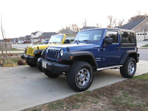 jeep lifted blue lifted blue jeep wrangler imgkid com the image kid