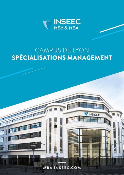 Mba Luxury Management Inseec by Brochure Management Inseec Msc Mba Lyon By O Et D Issuu