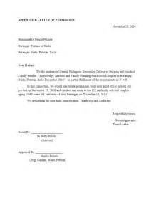 Thank You Letter Team Captain letter of permission