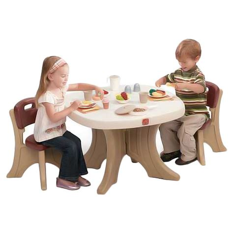 step2 new traditions table and chair set simple and minimalist table and chair for toddlers homesfeed