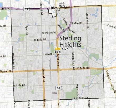 houses for sale in sterling heights mi sterling heights mi homes for sale inside realty llc