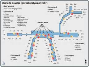 carolina airport terminal map international airport my
