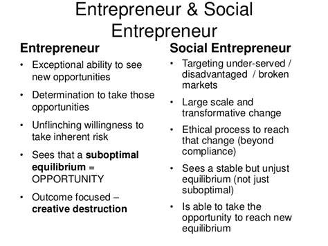 Distance Mba In Social Entrepreneurship by Social Enterprise And Social Entrepreneurship Autos Post