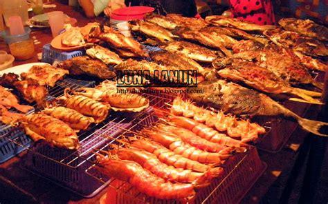 Meja Lipat Pasar Malam tempat yang harus anda singgah di kota kinabalu pasar malam lanun