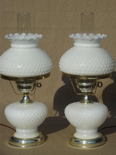 hobnail glass l shades milk glass ls new 748 milk glass hurricane lamp