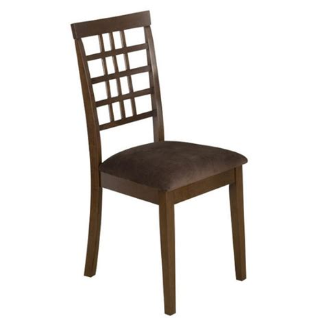 Brown Fabric Dining Chairs Jofran 976 Series Fabric Dining Chair In Caleb Brown Set Of 2 976 515kd