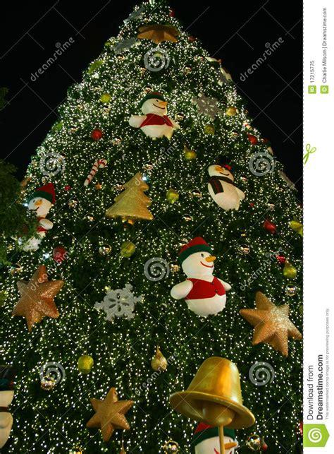 christmas tree thailand royalty free stock photo image