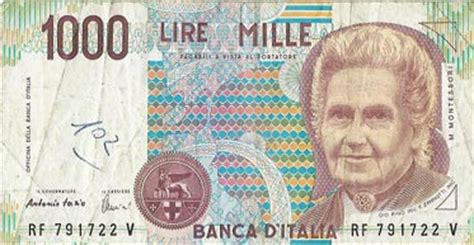 d italia lire mille banknotes from many countries p 1