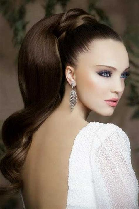 ponytail hairstyles for 15 long high ponytail hairstyles haircuts 2016 2017