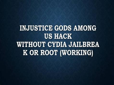 injustice card template injustice gods among us hack without cydia jailbreak or