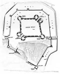 beaumaris castle floor plan concentric castle