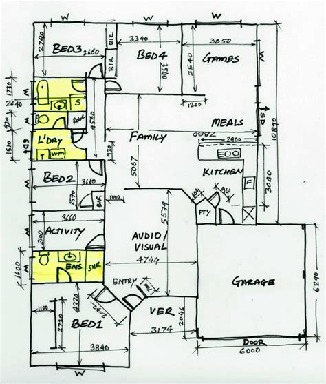 floor plan sketch how to draw a floor plan in 8 simple steps be inspired