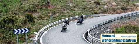 Motorradreisen M Nchen by Motorrad Weiterbildungszentrum Kennen Und K 246 Nnen