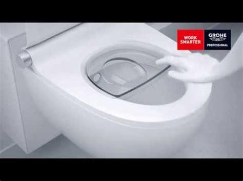 grohe toilette grohe sensia igs montage installation dusch wc zentrum