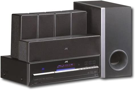 jvc 1100w 5 1 ch home theater system upconvert dvd cd