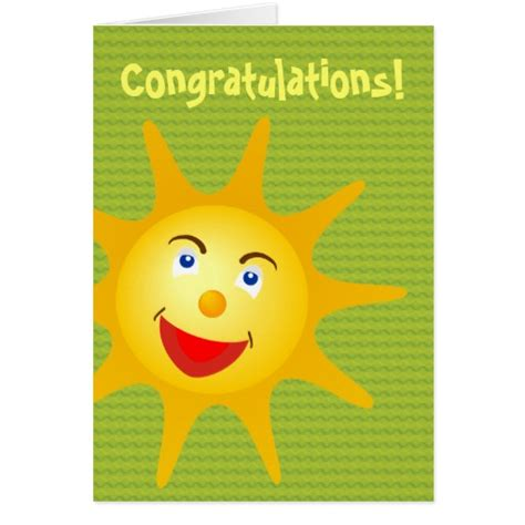 congratulations card template zazzle