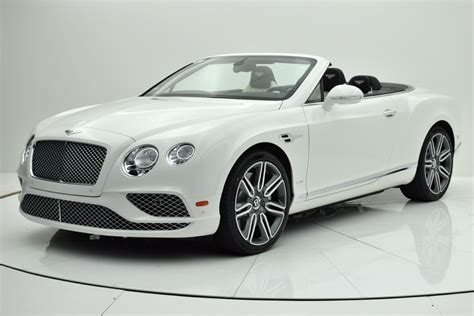 white bentley 2016 2016 bentley continental gt w12 convertible