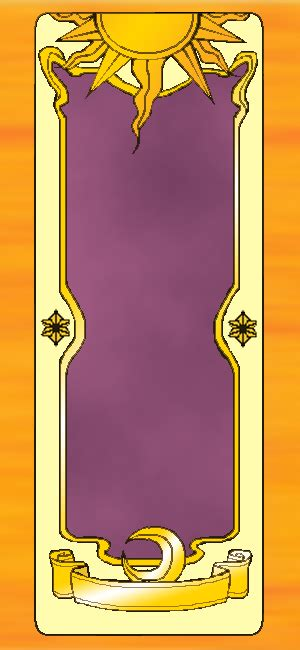 clow card template clow card base by sammysaps on deviantart