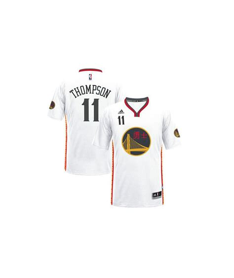 klay new year jersey s golden state warriors white 2017 new year
