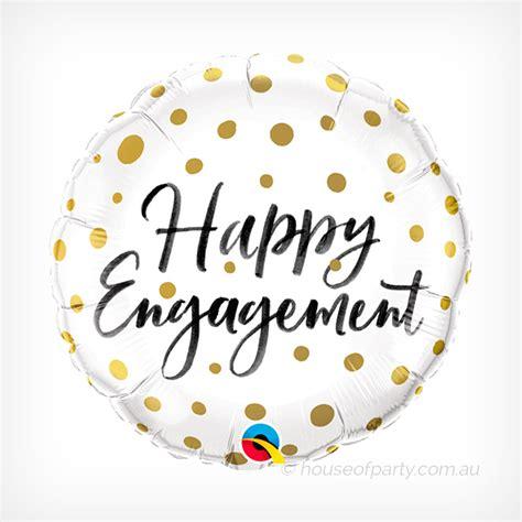 balloon cm foil happy engagement house  party