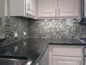 kitchen back splash glass mosaic tile contemporary