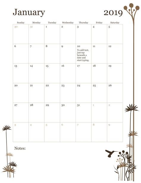 month calendar sun sat