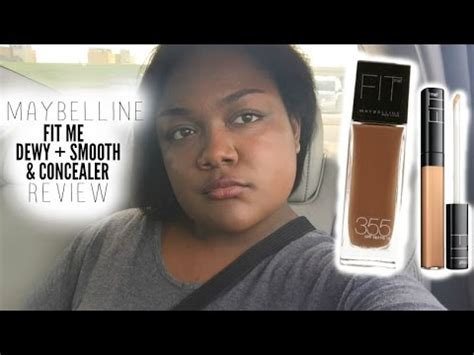 Maybelline Fit Me Dewy Smooth Foundation maybelline fit me concealer dewy smooth foundation