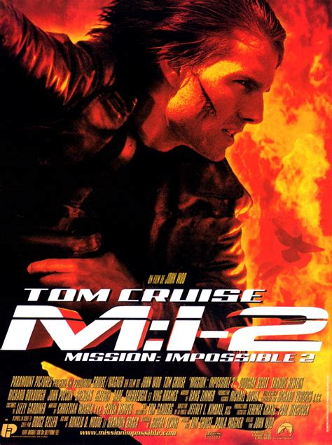 film tom cruise mission impossible 2 complet mission impossible 2 film 2000 senscritique