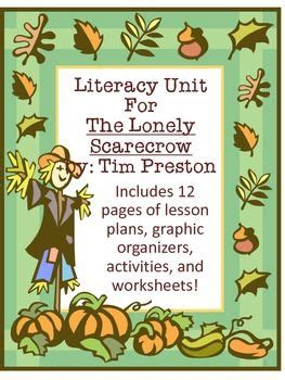 themes of the book lonely days scarecrows literacy and lonely on pinterest