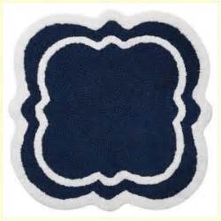 Navy Bath Rug Blue And White Bath Rug Roselawnlutheran