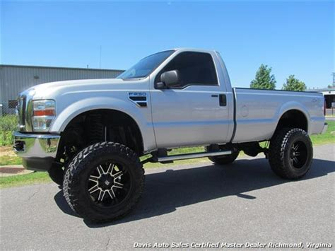 2008 ford f 250 duty lifted xlt 4x4 regular cab bed