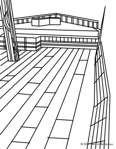 boat deck drawing deck of cards coloring pages coloring pages