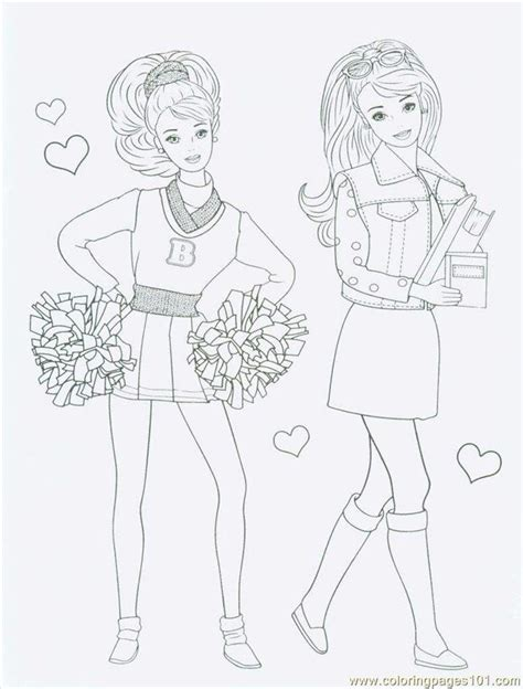 barbie coloring pages free download barbiecoloringpage coloring page free barbie coloring