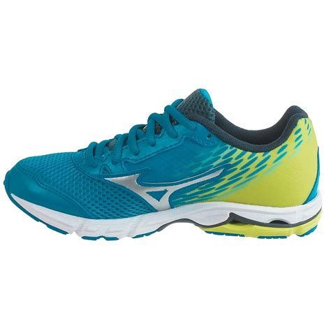my running shoes are big mizuno wave rider 19 running shoes for and big