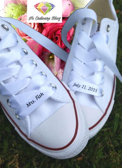 braut converse benutzerdefinierte wedding converse ribbon von