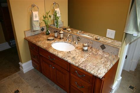 Bathroom Vanity Countertop Materials by Bathroom Interesting Bathroom Design With Brown Wooden
