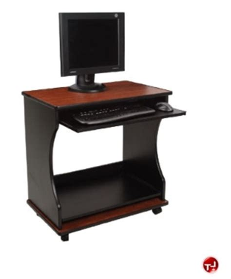 the office leader quartz mobile computer desk workstation