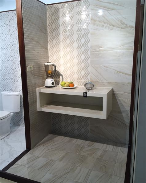 gambar keramik lantai kamar mandi roman desain rumah