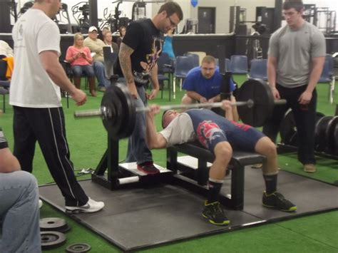 raw bench press records ohhs senior breaks world bench press record ogemaw