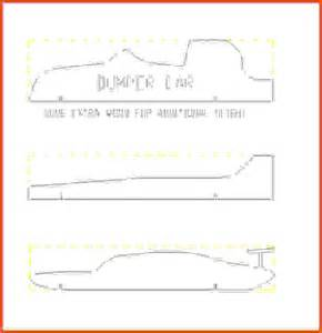 pinewood derby car templates pinewood derby template pdf