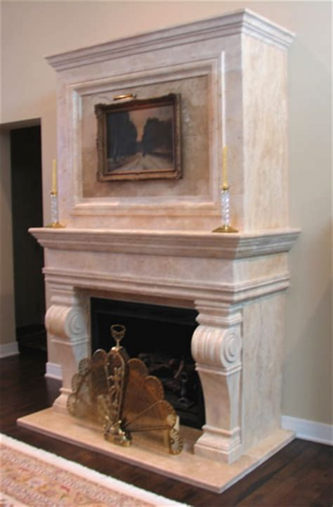 Cast Fireplace Surround by Fireplaces Mantels Surrounds Marble Cast