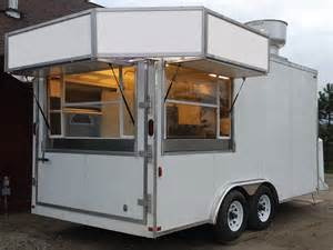 Food Trailers How To Build A Food Concession Trailer