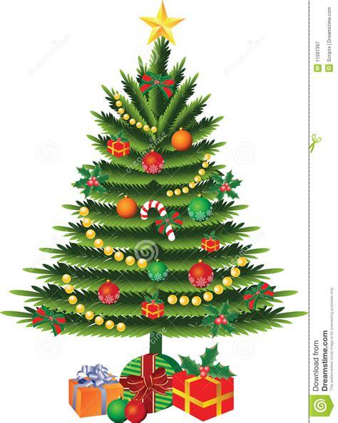 vector del 225 rbol de navidad ilustraci 243 n del vector