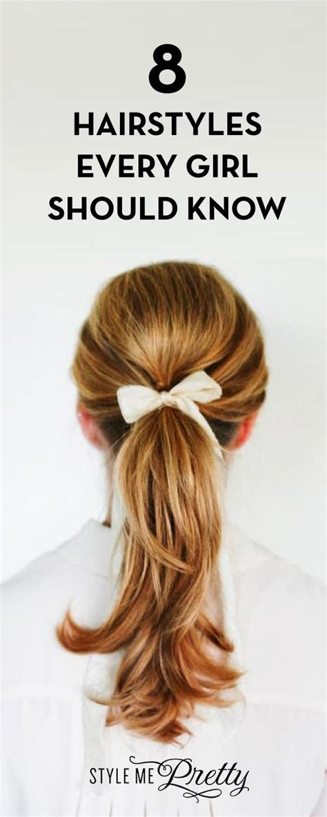 hairstyles every girl should know 4282 best mai style well said images on pinterest
