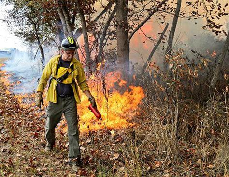 controlled burns scheduled   doe oak ridge reservation