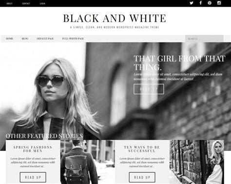 blogger themes white 15 best free responsive magazine wordpress themes 2016