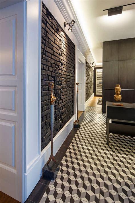 posh private home  slovakia geometric patterns