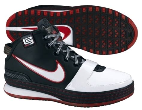 lebron nike sneakers lebron shoes nike air zoom lebron vi 6 2008 09