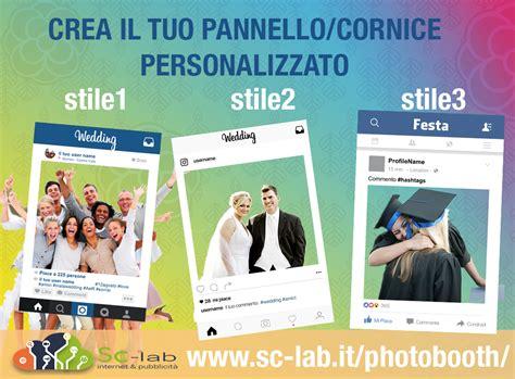 cornici foto instagram photo booth instagram cornice personalizzata foto per eventi